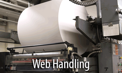 Web handling and roll alignment services